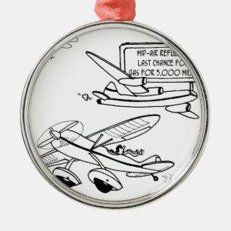 Flying Cartoon 3682 Metal Ornament