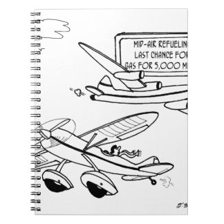 Flying Cartoon 3682 Notebook