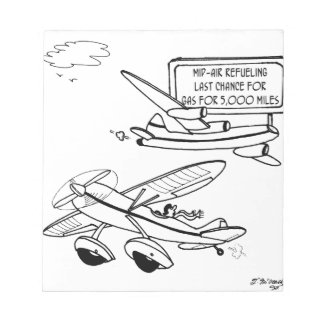 Flying Cartoon 3682 Notepad