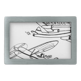 Flying Cartoon 3682 Rectangular Belt Buckles