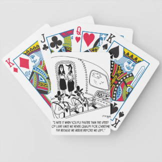 Flying Cartoon 7547 Bicycle Playing Cards