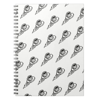 Flying Coffee Latte Drink or Tea Time Notebooks