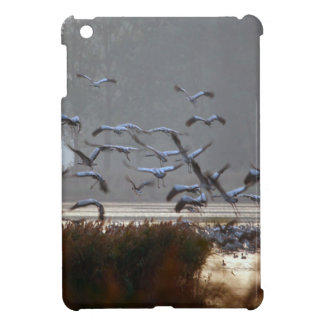 Flying cranes cover for the iPad mini