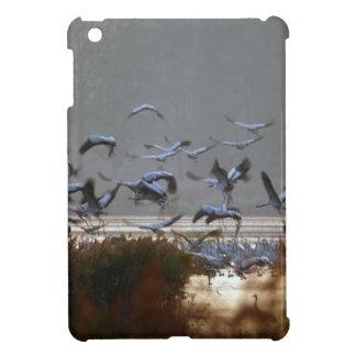 Flying cranes iPad mini cover