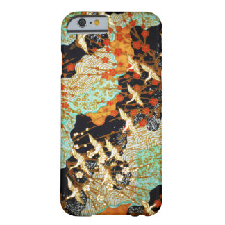 FLYING CRANES WITH SPRING FLOWERS Japanese Floral Barely There iPhone 6 Case