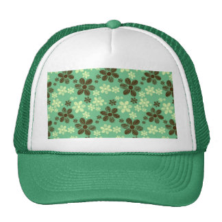 Flying daisies trucker hat