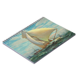 Flying Defender 1895 Spiral Notebook