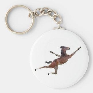 flying donkey keychain