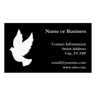 Flying Dove Business Card Templates