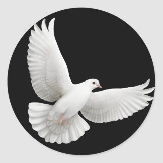 Flying Dove Sticker