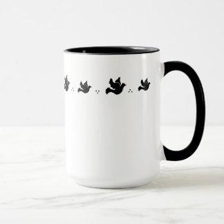 Flying Doves Mug