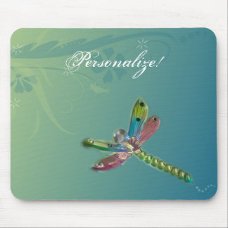 Flying Dragonfly Mousepad