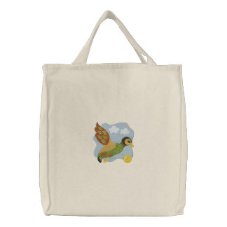 Flying Duck - Tote Canvas Bag