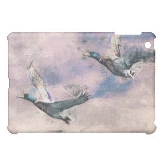 Flying ducks iPad mini cases