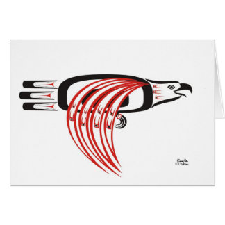 Flying Eagle Card