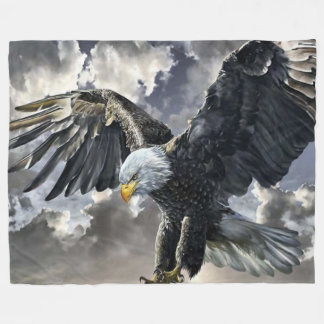 FLYING EAGLE FLEECE BLANKET