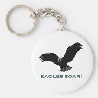 Flying Eagle Keychain