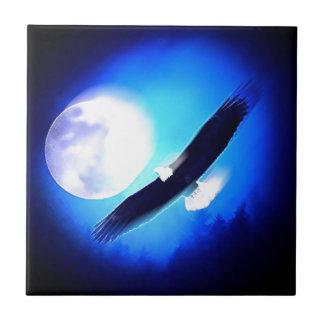 Flying Eagle & Moon Tile