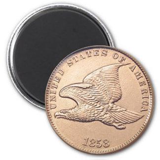 Flying Eagle U.S. Penny Magnet