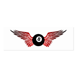 flying eightball mini business card