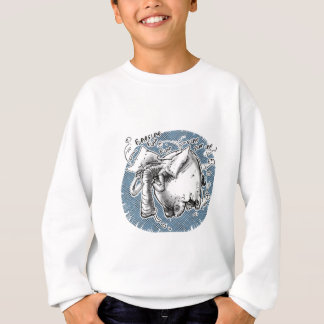 flying elephant sweatshirt