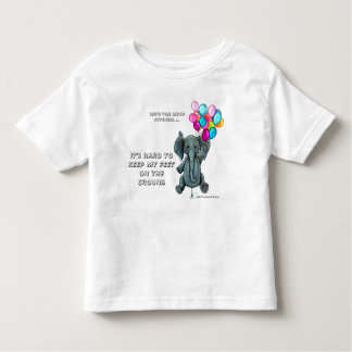 Flying Elephant Toddler Shirt- Cuteness Overload Toddler T-shirt