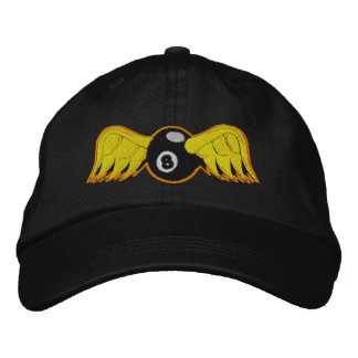 Flying Eye 8 Ball Embroidered Hat