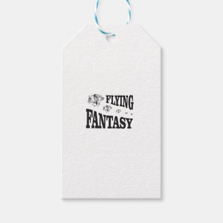 flying fantasy horse pack of gift tags