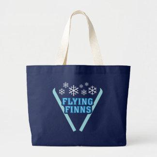Flying Finns Dark Jumbo Tote Bag
