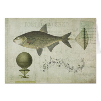 Flying Fish Card