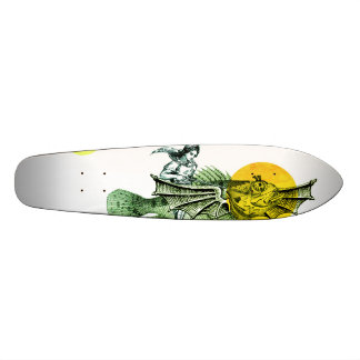 Flying fish skateboard deck