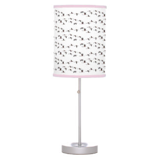 Flying Flamingos Lamp (choose colour)