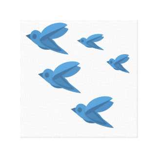 Flying Formation Canvas Print