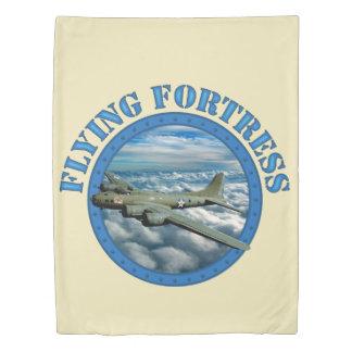 Flying Fortress Duvet Cover