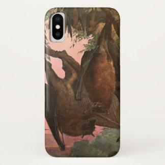 Flying Fox Bats by Austen, Vintage Wild Animals Case-Mate iPhone Case