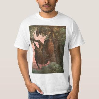 Flying Fox Bats by Austen, Vintage Wild Animals T-Shirt