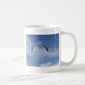 Flying Free Basic White Mug