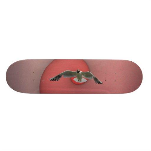 flying free skate board
