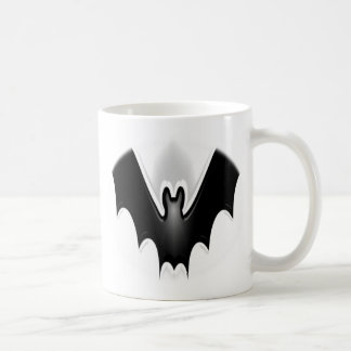 Flying Funky Halloween Bat Spooky Coffee Mug