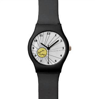 Flying Geese at Sunrise Wristwatches
