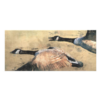 Flying Geese BookMark Rack Card Template