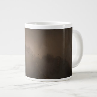Flying Geese Large Coffee Mug