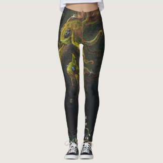 Flying Goldfish Leggings