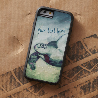 Flying Green Sea Turtles   iPhone 6/6 Plus Cases