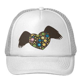 Flying Heart Trucker Hat