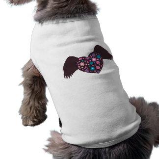 Flying Heart - Violet Dog Tee