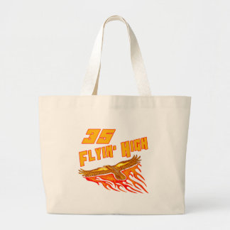 Flying High 35th Birthday Gifts Large Tote Bag