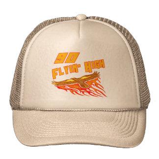 Flying High 90th Birthday Gifts Trucker Hat