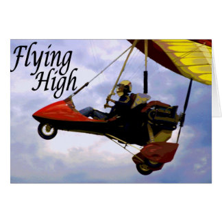 Flying High Card