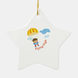 Flying High Ceramic Ornament